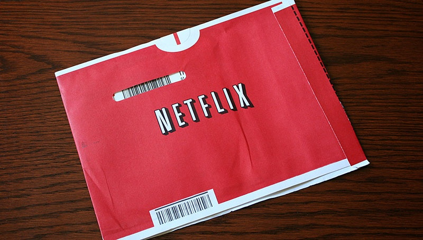 Red Netflix Envelope