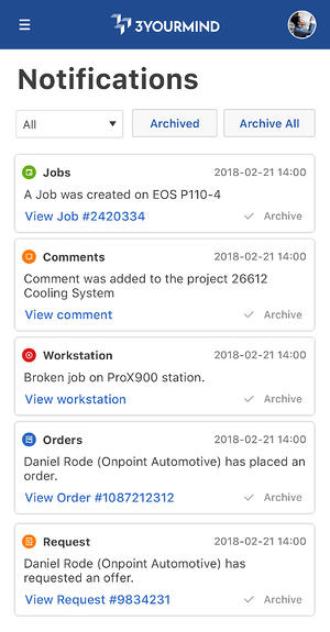 Agile-MES_Notifications