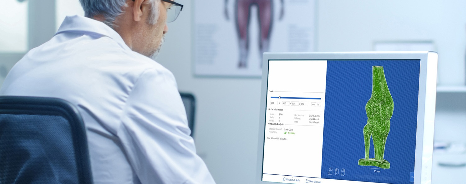 3d printing software for medical industry