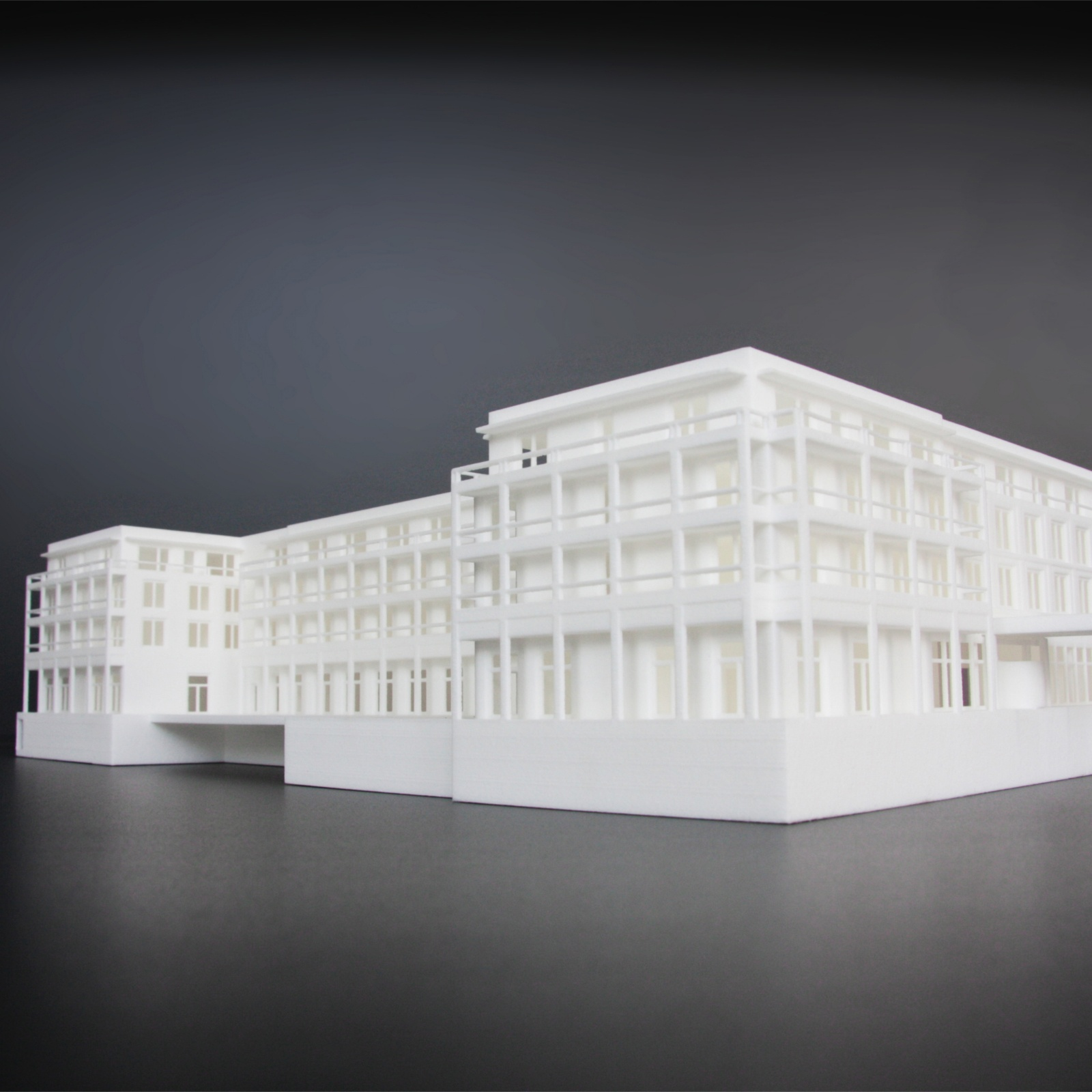 Parkhotel Bad Saarow, 3D Printed Model