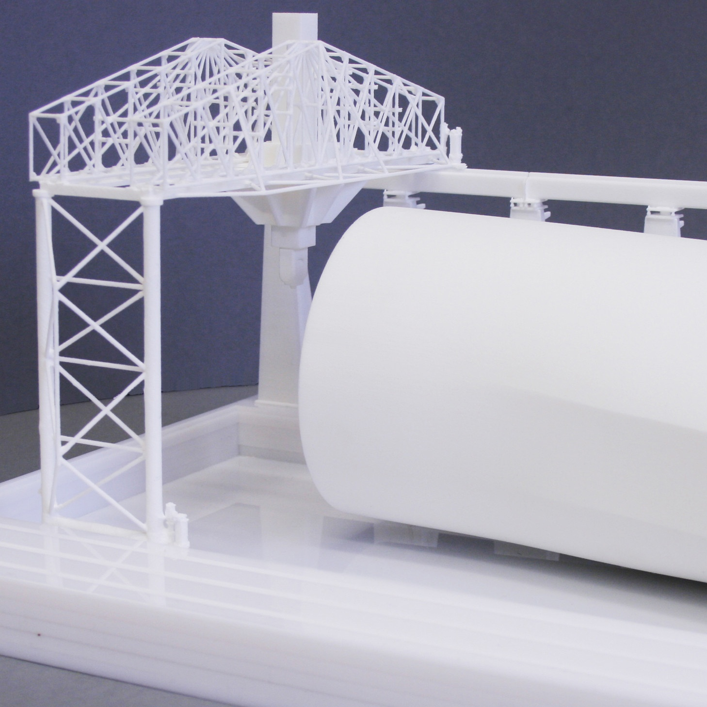 Frauenhofer 3D Printed Wind Tunnel Model