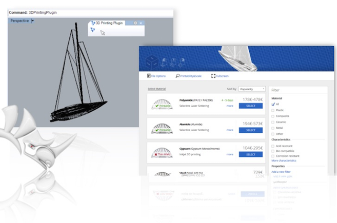 3D Printing from Rhino with a Click   3YOURMIND