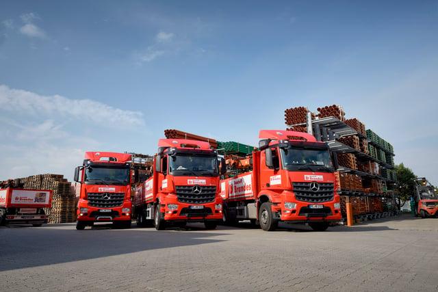 Truck fixing - Daimler