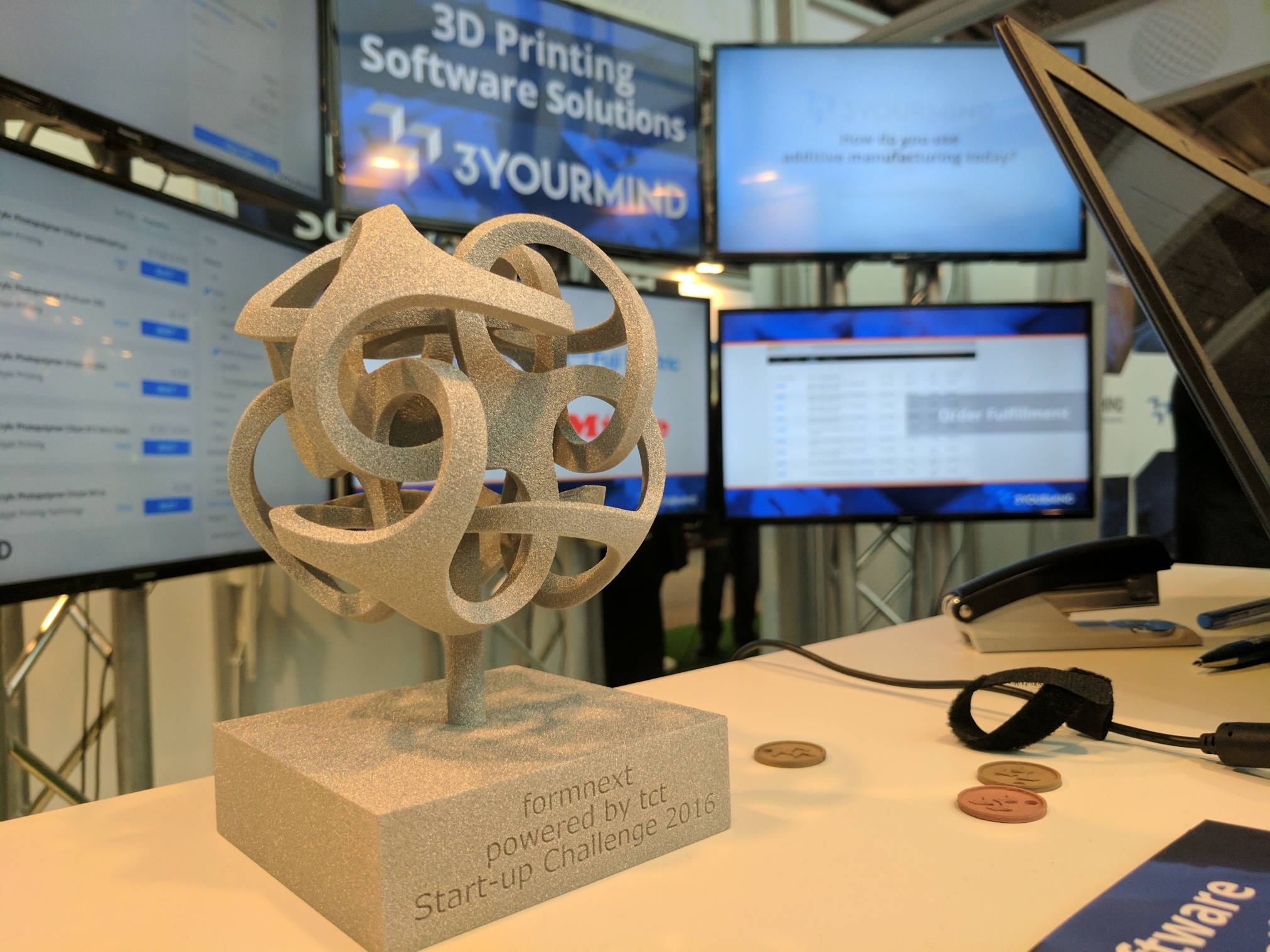 3YOURMIND Named Winner For Formnext Start-Up Challenge 2016