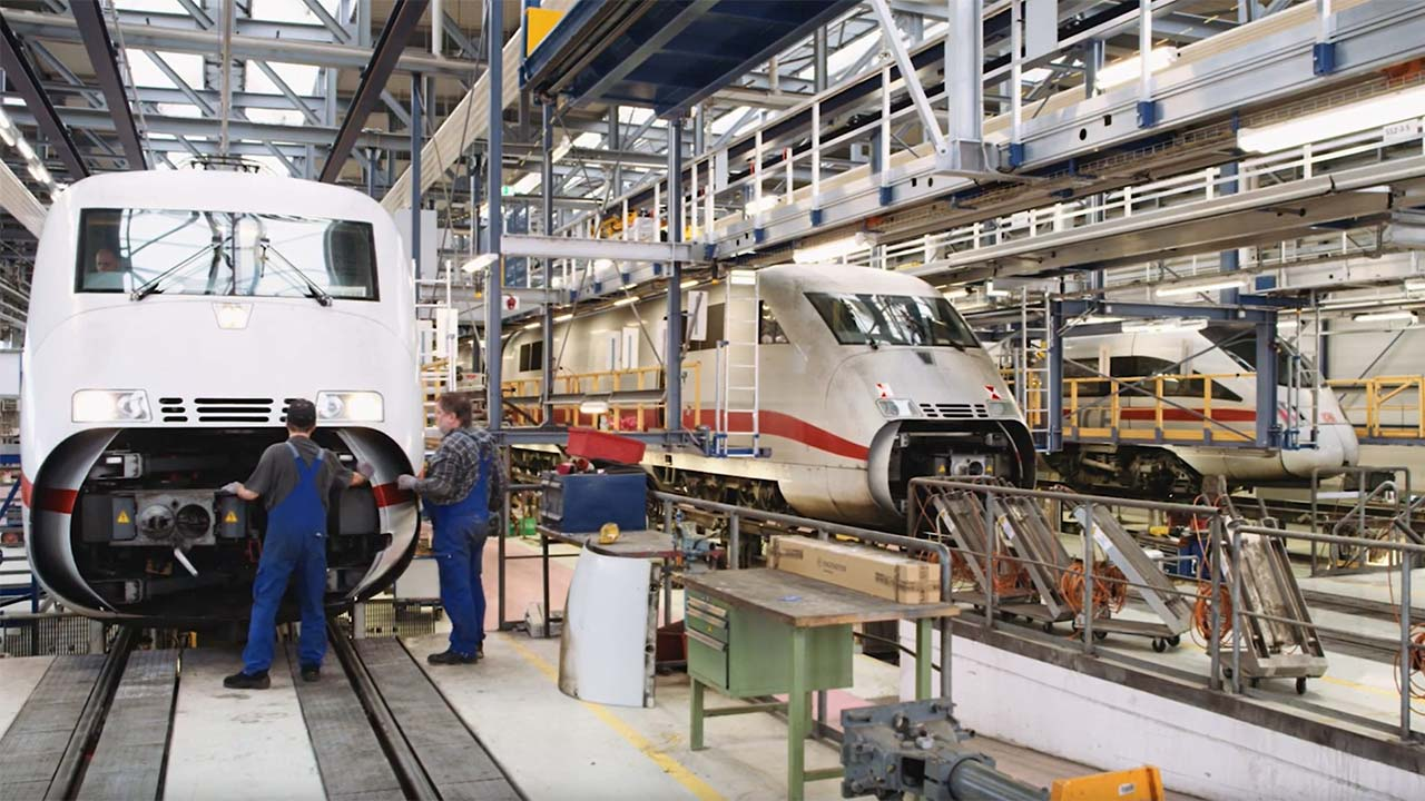 Companies such as Deutsche Bahn and SNCF are the largest and most profitable railway companies in the world