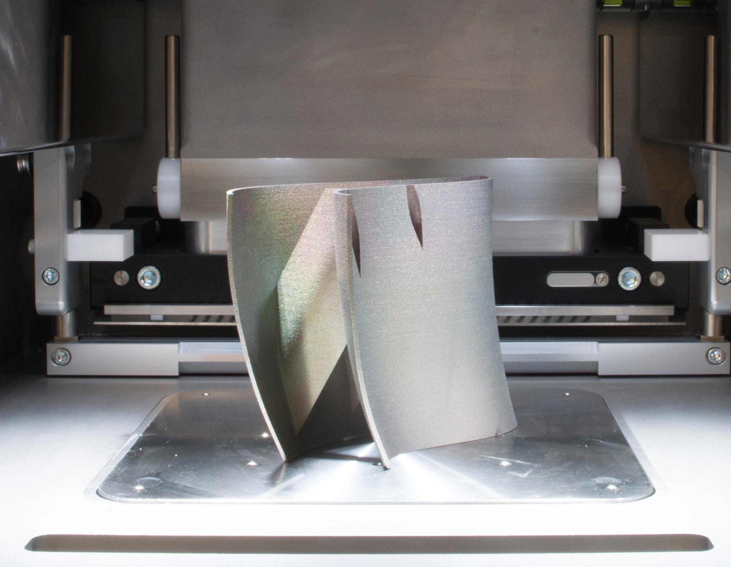 3D gedruckte Metallkomponente