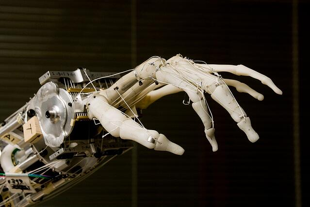 3D Printed Prosthetic Hand created by the University of Washington