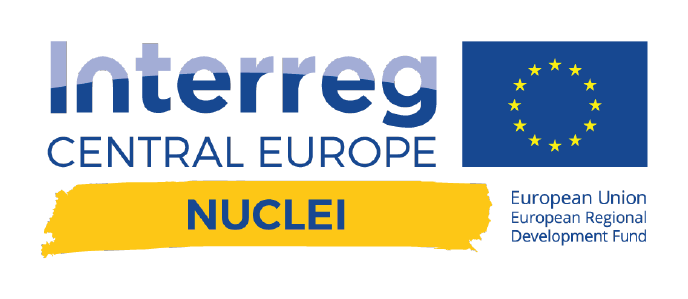 Interreg Central Europe NUCLEI logo