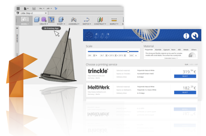 Download Fusion 360 3D Printing App | 3YOURMIND