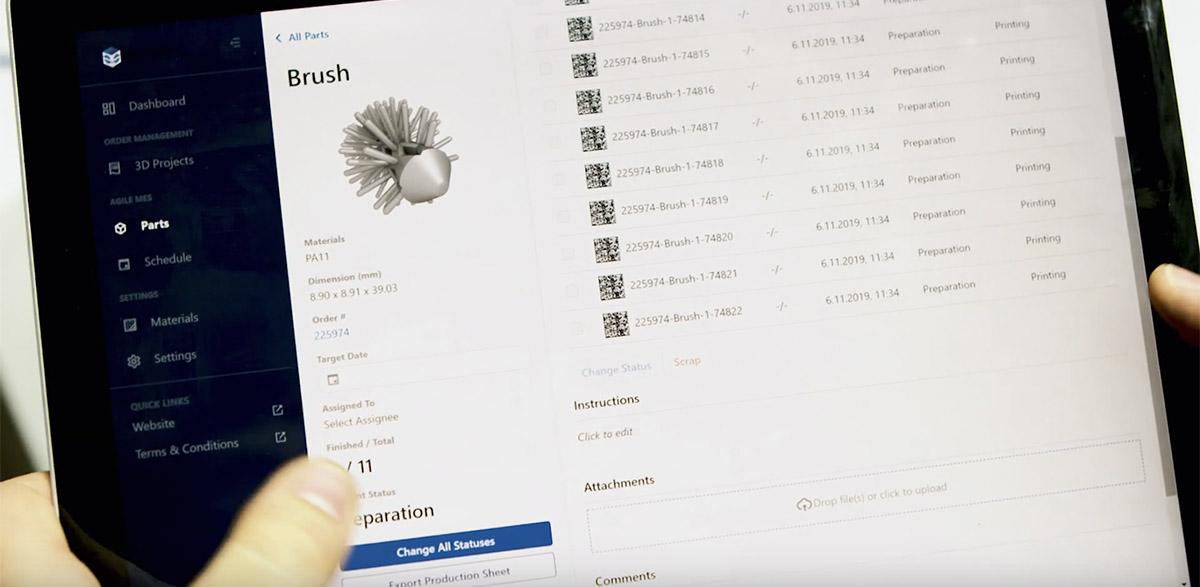 Let's get Digital: Qualitätskontrolle und Produktionsverfolgung in der Additiven Fertigung werden digitalisiert