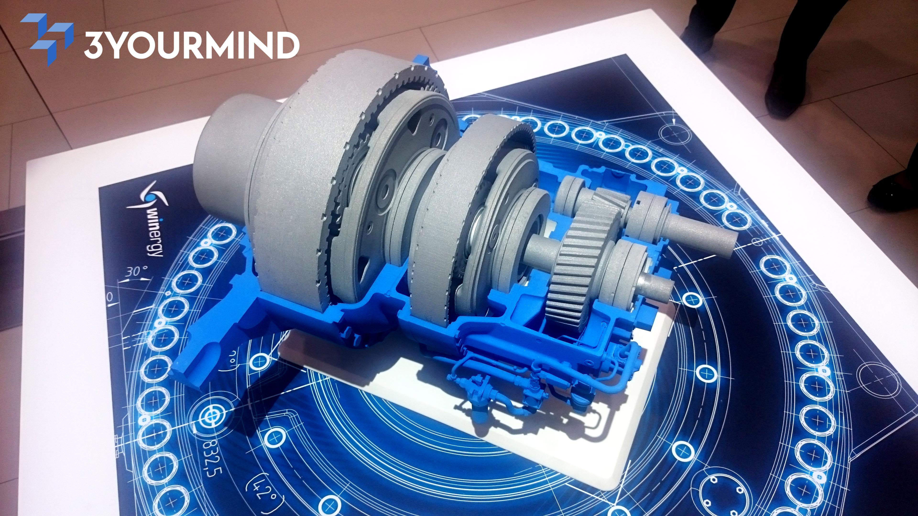 Manufacturing Impact: Winergy's Functional, 3D Printed Gear Drive Model