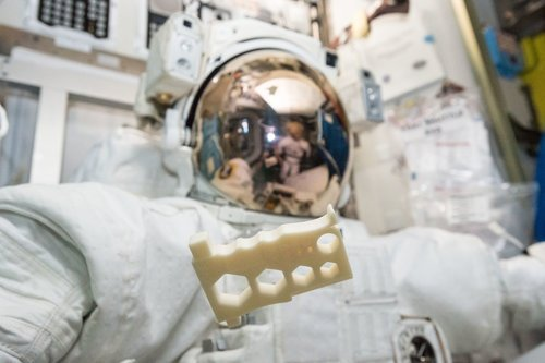 The International Space Station (ISS) is 3D Printing in Zero Gravity
