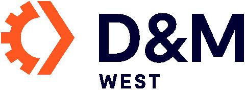 D&M WEST logo