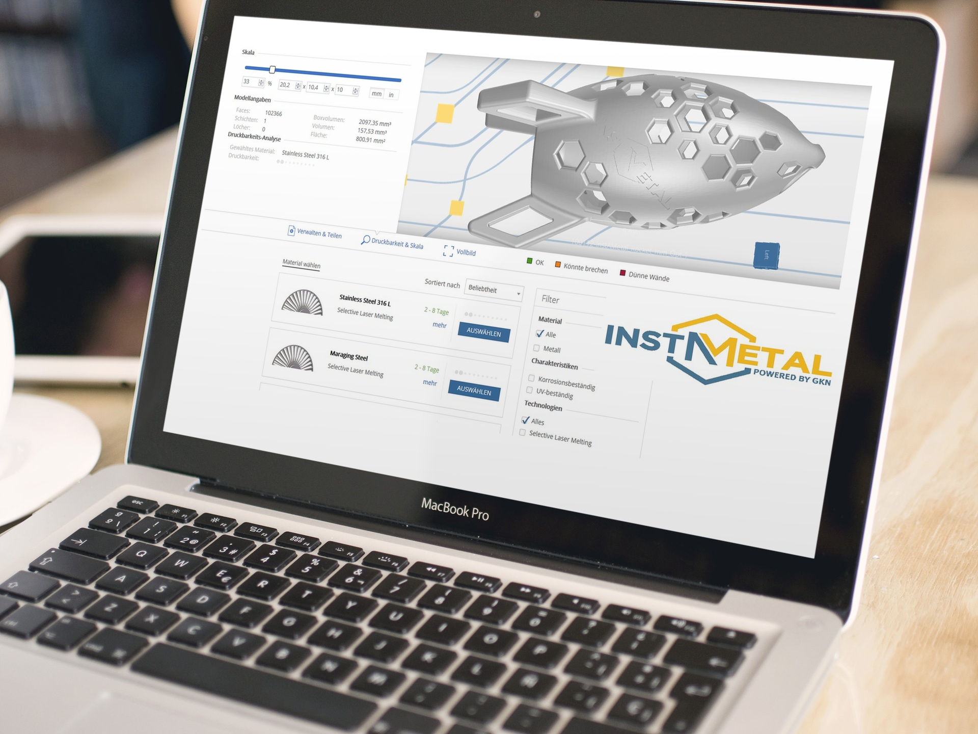 GKN and 3YOURMIND Enable Simple Online Access to Metal 3D Printing